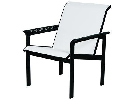 Suncoast South Beach Sling Cast Aluminum Arm Lounge Chair