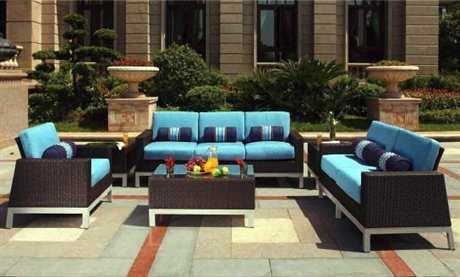 Suncoast Avenir Wicker Lounge Set
