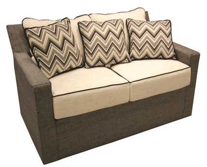 Suncoast Summer Aluminum Loveseat