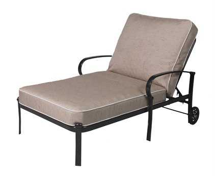 Suncoast madison aluminum chaise and a half sud913 for Chaise and a half