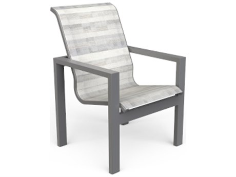 Suncoast Vectra Sling Cast Aluminum Dining Chair