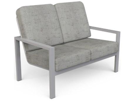 Suncoast Vectra Bold Cushion Cast Aluminum Loveseat