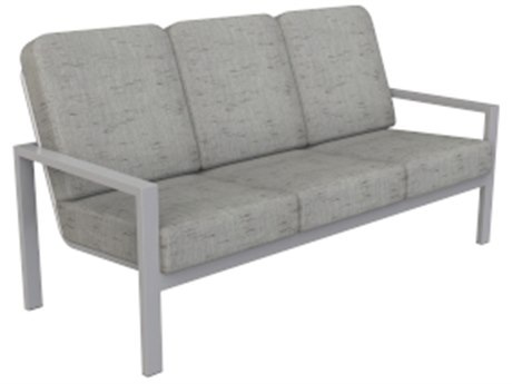 Suncoast Vectra Bold Cushion Cast Aluminum Sofa