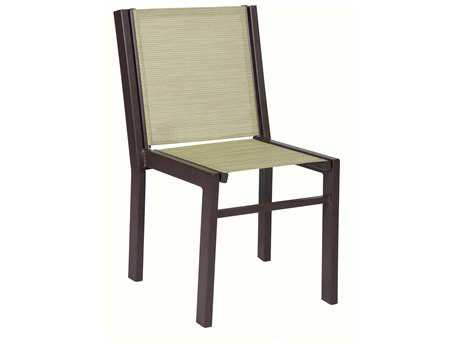 Suncoast Vectra Bold Sling Cast Aluminum Dining Chair