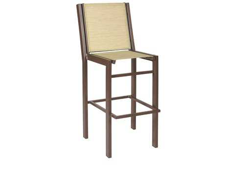 Suncoast Vectra Bold Sling Cast Aluminum Bar Stool