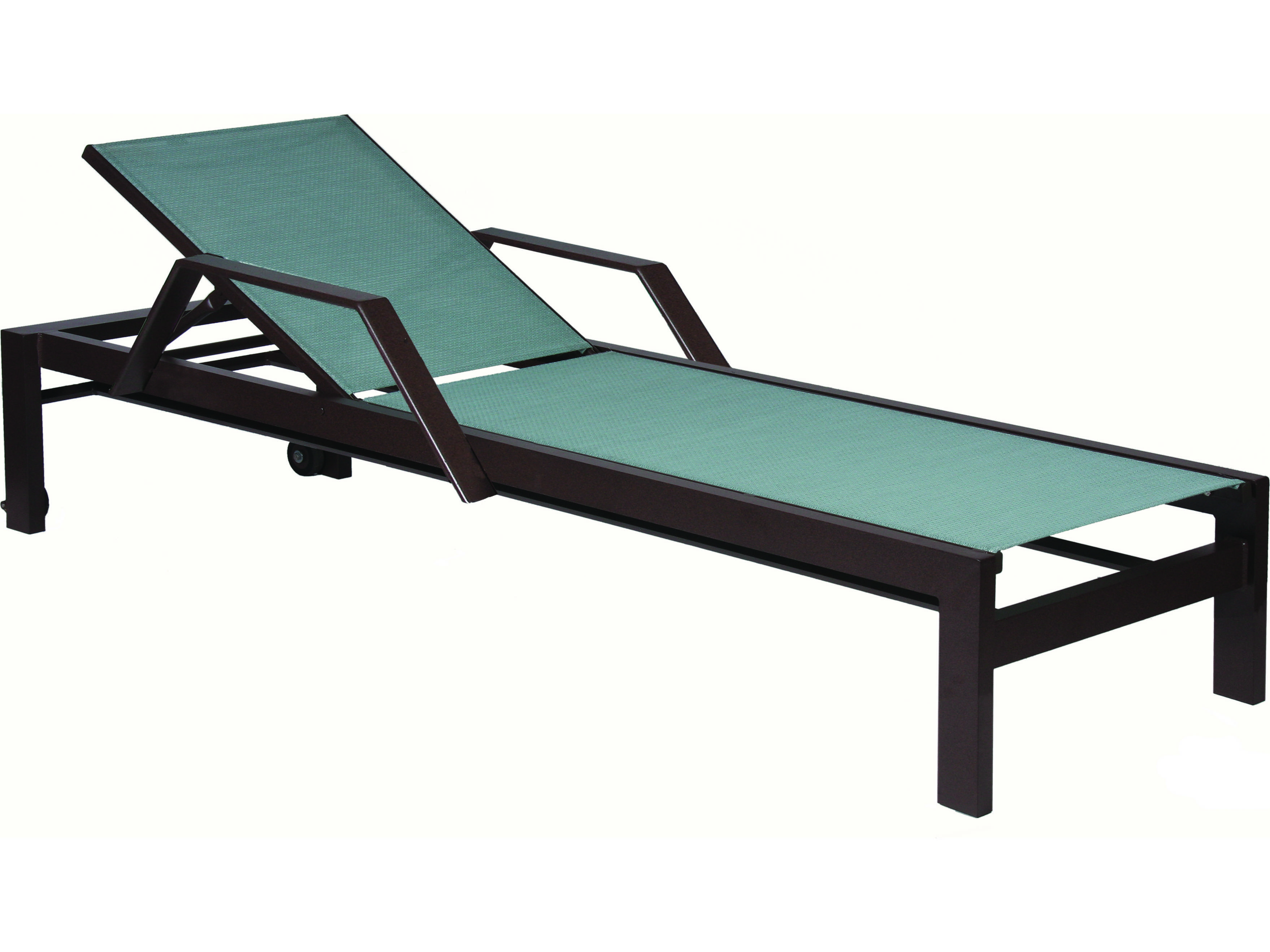 Suncoast vectra bold sling cast aluminum chaise lounge for Cast aluminum chaise