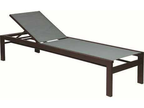 Suncoast Vectra Bold Slng Cast Aluminum Chaise Lounge