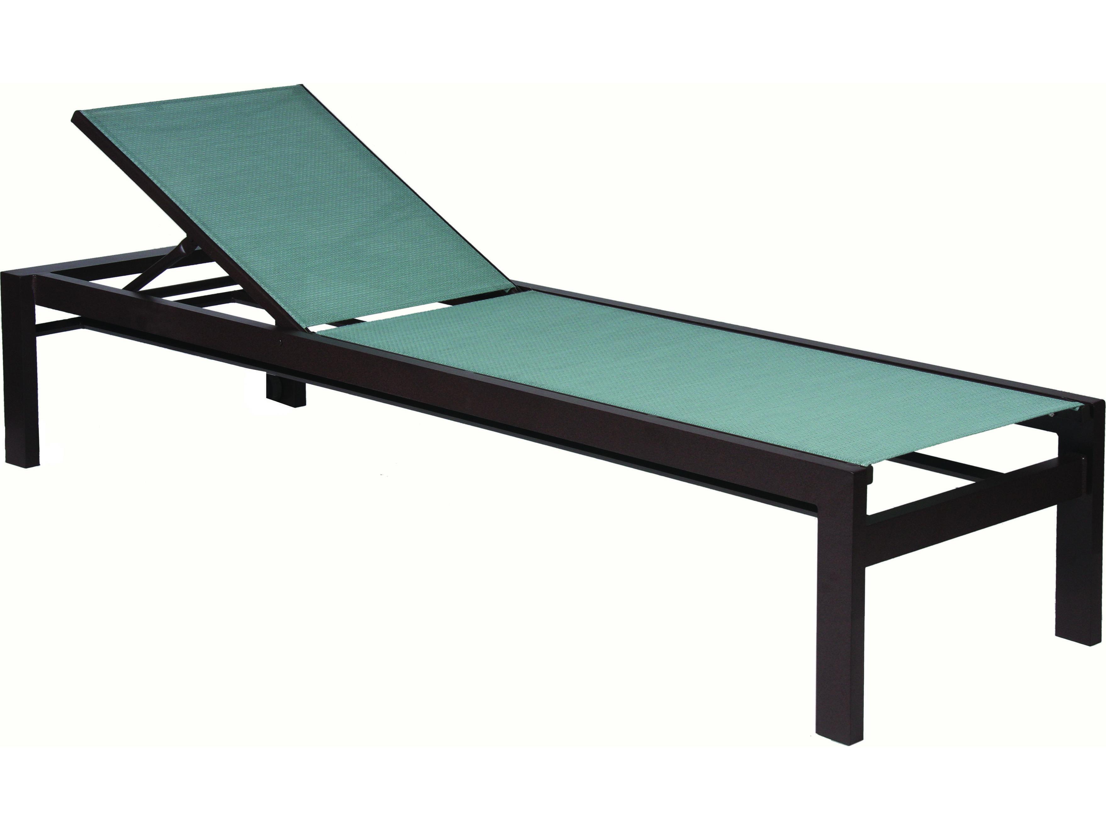 Suncoast vectra bold slng cast aluminum chaise lounge e494 for Chaise longue aluminium