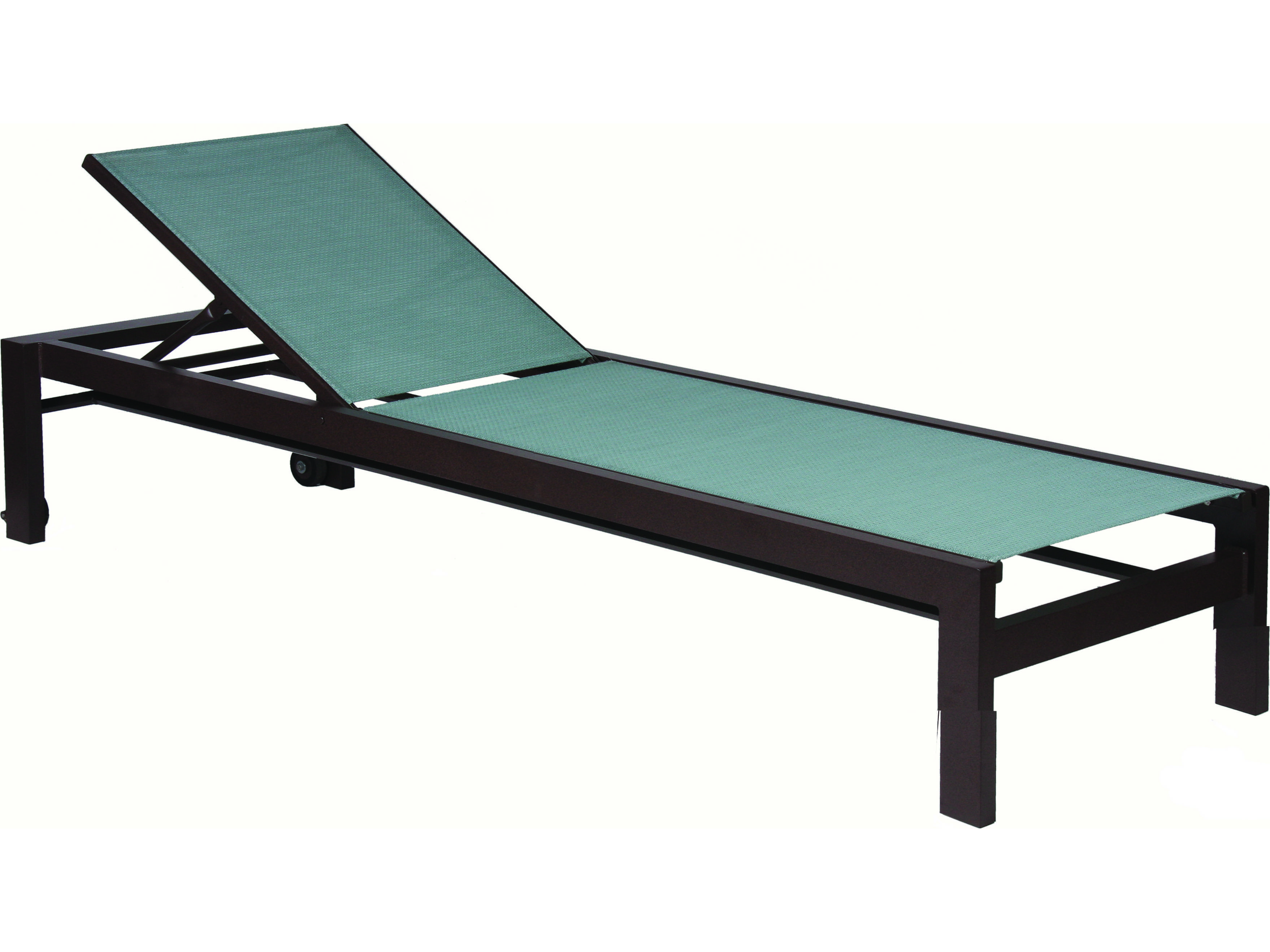 Suncoast vectra bold sling cast aluminum chaise lounge for Cast aluminum chaise lounge