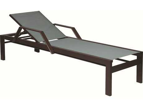 Suncoast Vectra Bold Sling Cast Aluminum Chaise Lounge