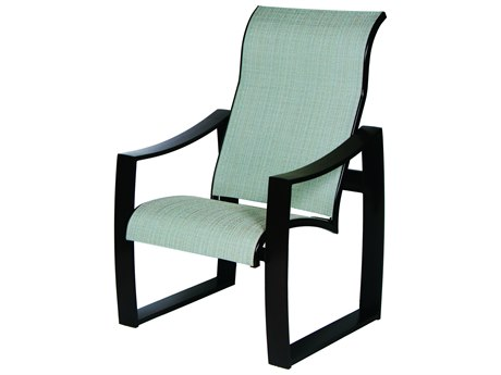 Suncoast Pinnacle Sling Aluminum Supreme Dining Arm Chair