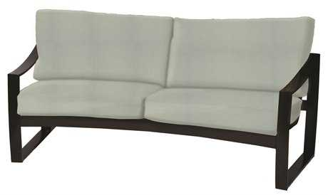 Suncoast Pinnacle Cushion Aluminum Sofa