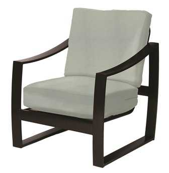 Suncoast Pinnacle Cushion Aluminum Arm Dining Chair
