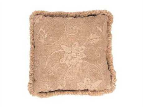 Suncoast Accent 16 Square Pillow with Fringe