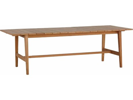 Summer Classics Coast Teak 94.37''W x 39.5''D Extension Table