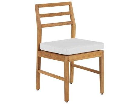 Summer Classics Santa Barbara Teak Natural Dining Side Chair