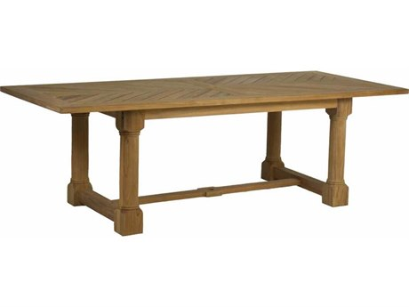 Summer Classics Lakeshore Teak 95.75''W x 42.25''D Rectangular Dining Table