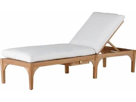 Summer Classics Club Teak Small Chaise Lounge