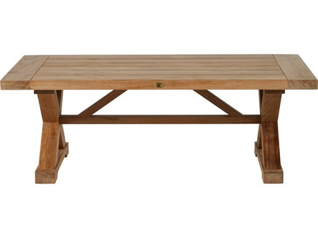 Summer Classics Modena Natural Teak 48''W x 29''D Rectangular Coffee Table
