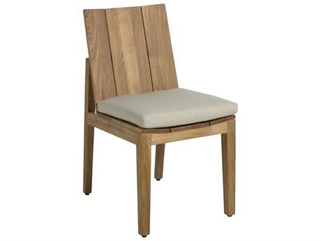Summer Classics Ashland Teak Dining Side Chair PatioLiving