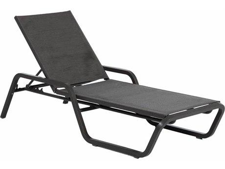 Summer Classics Oscar Wicker Sling Chaise Lounge