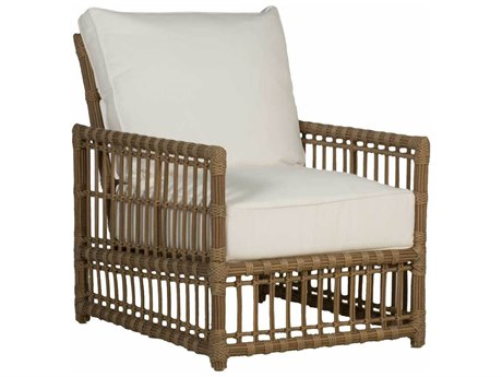 Summer Classics Newport Wicker Lounge Chair