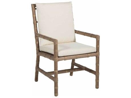 Summer Classics Newport Wicker Dining Arm Chair