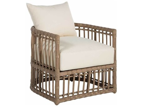 Summer Classics Newport Wicker Barrel Chair