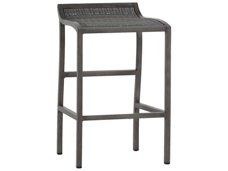Summer Classics Villa Wicker Slate Grey Bar Stool