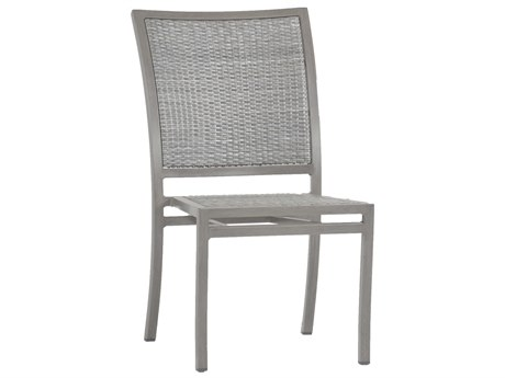 Summer Classics Villa Wicker Oyster Dining Side Chair