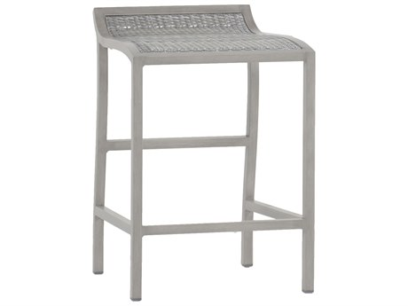 Summer Classics Villa Wicker Oyster Counter Stool