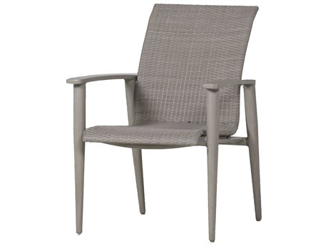 Summer Classics Wind Wicker Oyster Dining Arm Chair