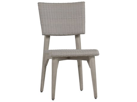 Summer Classics Wind Wicker Oyster Dining Side Chair