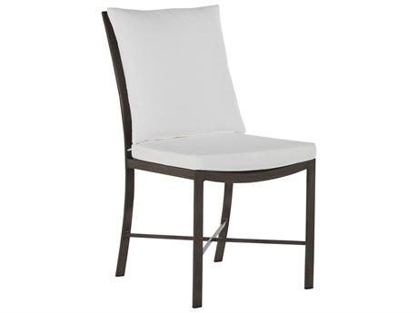 Summer Classics Monaco Aluminum Slate Gray Dining Side Chair