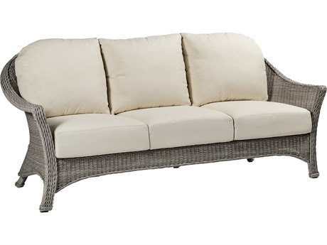 Summer Classics Regent Wicker Sofa with Cushion