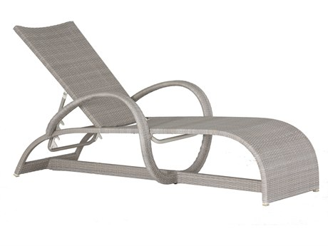Summer Classics Halo Wicker Oyster Chaise Lounge