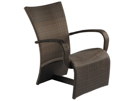 Summer Classics Halo Wicker Black Walnut Lounge Chair