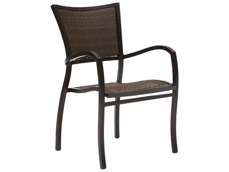 Summer Classics Aire Wicker Dining Arm Chair