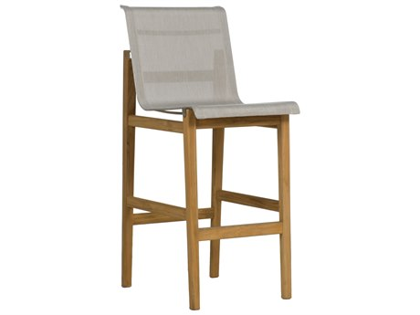 Summer Classics Coast Teak Bar Stool