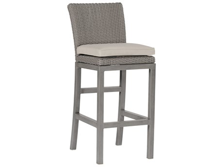 Summer Classics Rustic Wicker Oyster Bar Stool