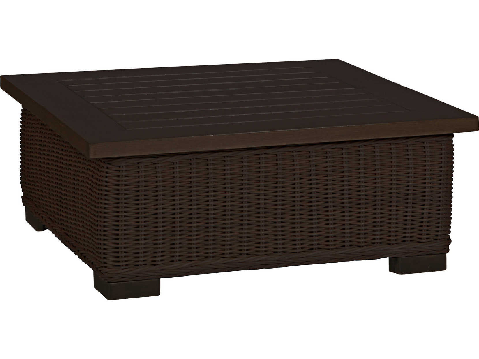 Summer Classics Rustic Wicker Black Walnut 43'' Wide