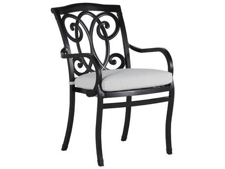 Summer Classics Somerset Cast Aluminum Dining Arm Chair