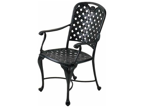Summer Classics Provance Cast Aluminum Dining Arm Chair