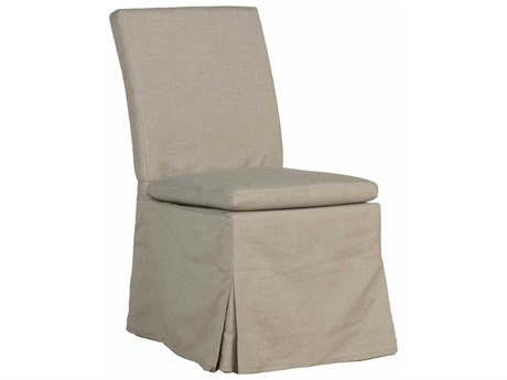 Summer Classics Helena Cast Dove Dining Arm Chair with Cushion