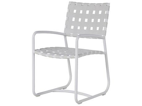 Summer Classics Catalina Aluminum Dining Arm Chair