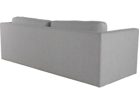 Summer Classics Venti Aluminum Cast Silver Sofa