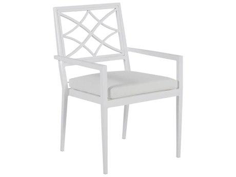 Summer Classics Elegante Aluminum Dining Arm Chair