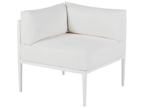 Summer Classics Elegante Aluminum Corner Lounge Chair