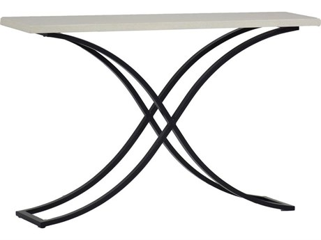 Summer Classics Marco Aluminum 52''W x 13''D Rectangular Console Table