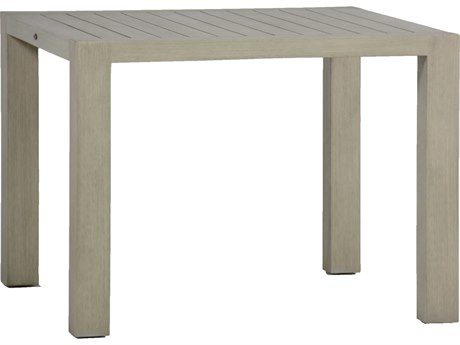 Summer Classics Madrigal Resysta Oyster 39'' Wide Square Dining Table